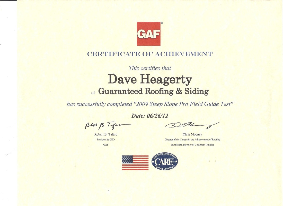Certifications guaranteed roofing siding gaf warrantees xflitez Images